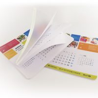Podkladka z kalendarzem