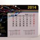 Podkladka pod mysz z kalendarzem - kalendarium z szablonu